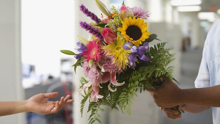 Цветы — важный элемент дизайна офисных помещений и не только
