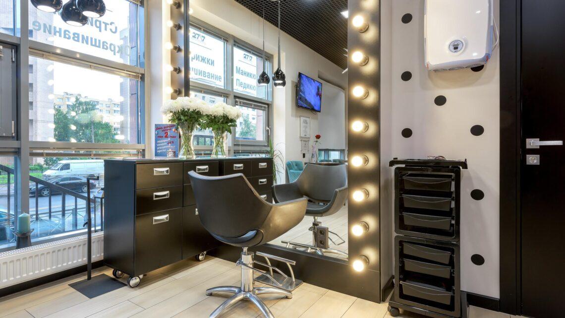 Дизайн маленького салона красоты в 2021