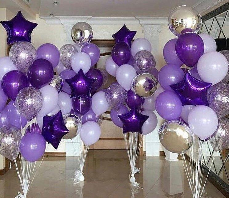 Фонтан из гелиевых шариков – подарите близкому праздник
